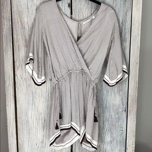 Faithfull the brand white print romper